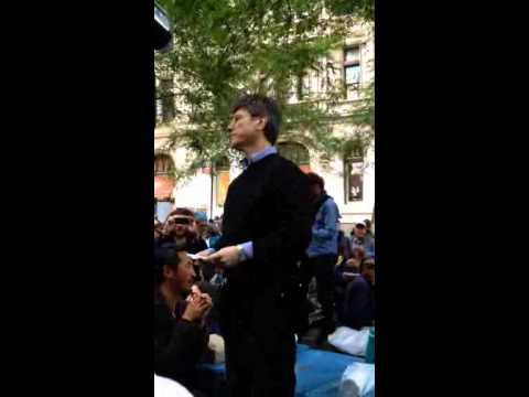 Jeffrey Sachs at Occupy Wall Street
