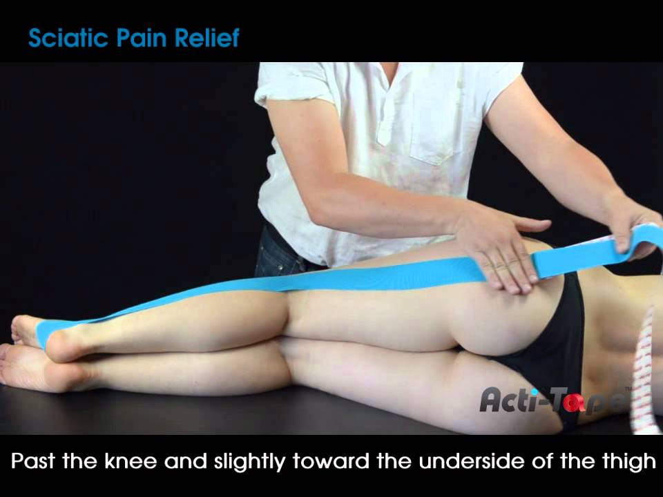 how to make a knee strap with pre wrap