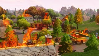 RIP salty springs *gone* ( Fortnite Battle Royale )