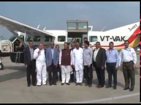 Gujarat CM launches Porbandar-Rajkot air service, other cities in Gujarat to be connected