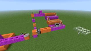 Mouse trap in minecraft - My version