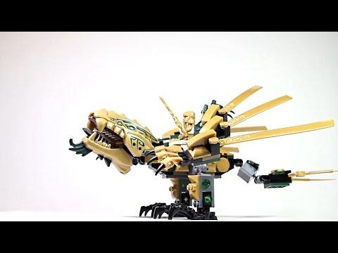 Лего Ниндзяго.Золотой дракон. Ежедневный обзор увлекательного хобби.