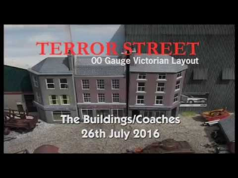 Terror St – Pt2 – Metcalfe Shop Buildings and Coaches