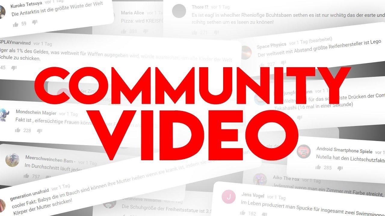 15 COOLE FAKTEN aus der COMMUNITY! - YouTube