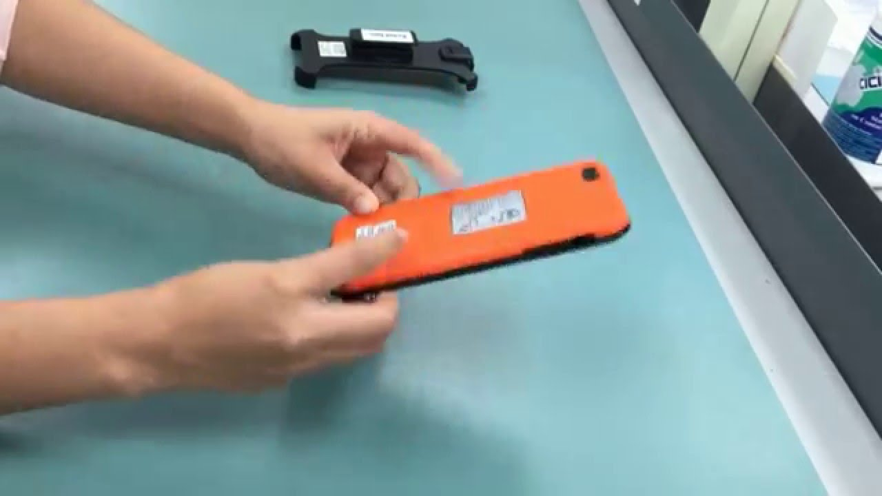Intrinsically Safe iPhone 6+ case Installation Intrinsically Safe Store  Explosion Proof