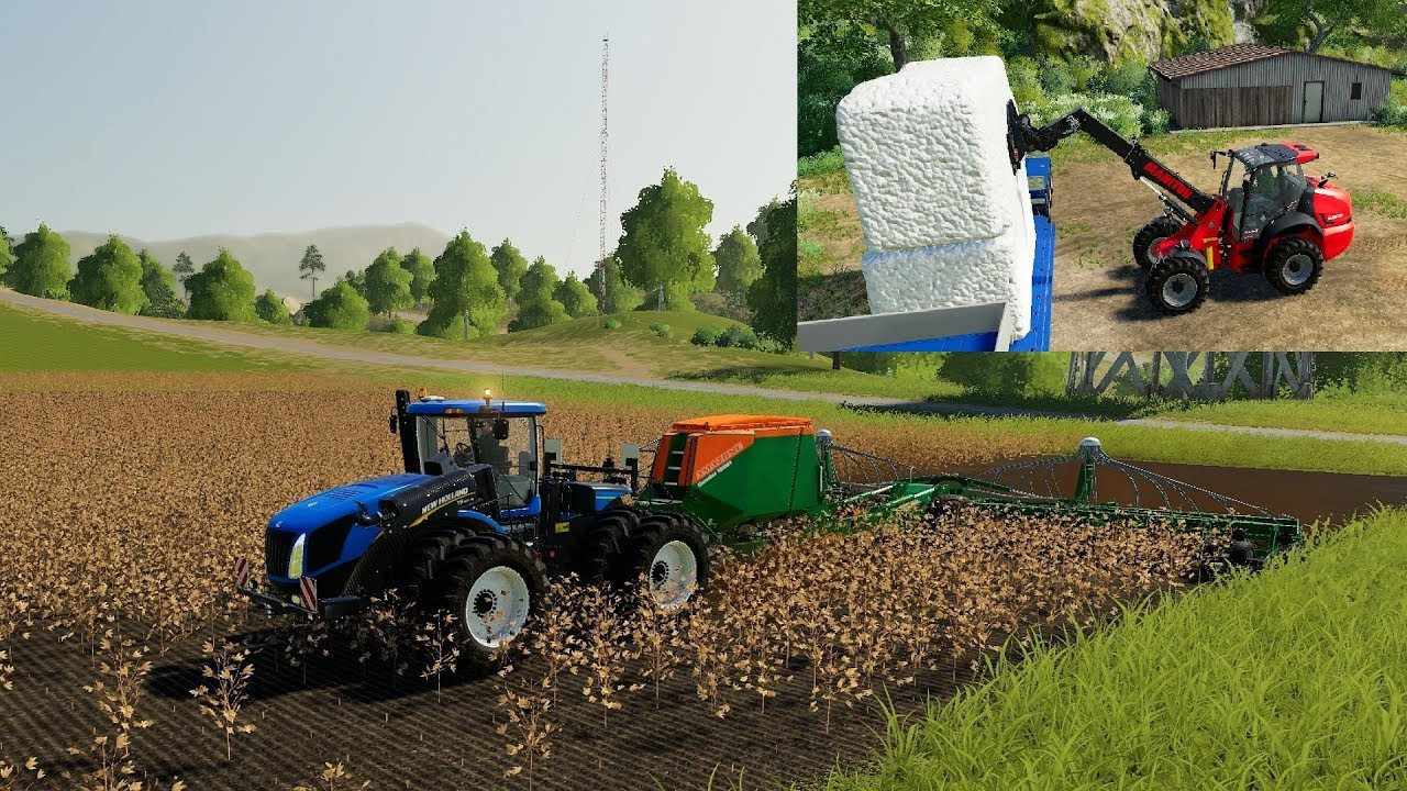 FS19 for Xbox One, PS4 and PC/Mac - Cotton 03