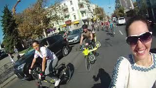 Осенний Велодень (велопарад) 2018 с ТигроТандемом