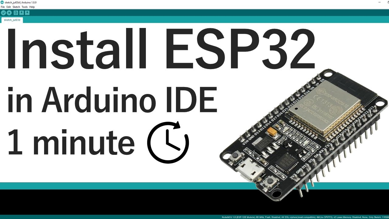 Installing ESP32 in Arduino IDE Mac OS X and Linux | Random