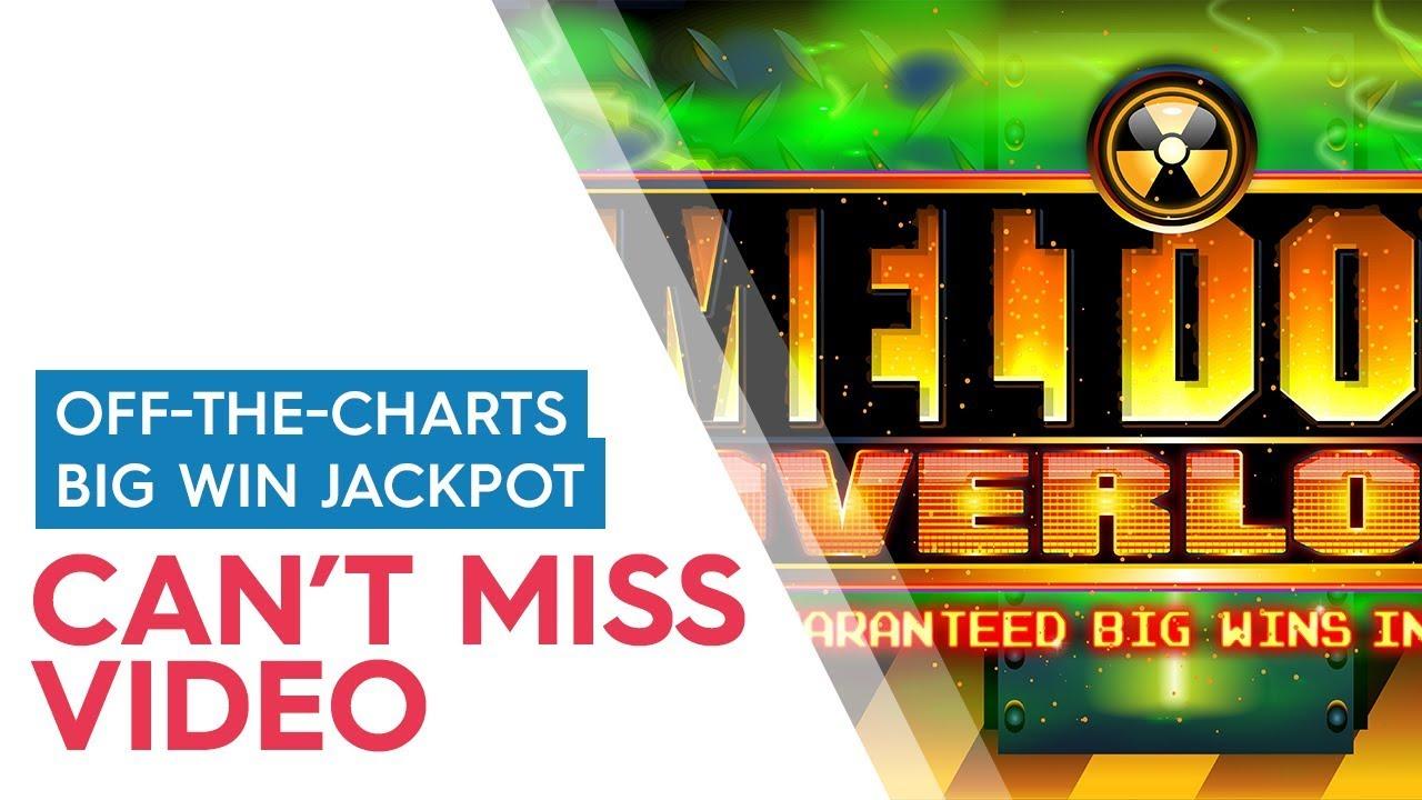 Meltdown slot machine jackpot