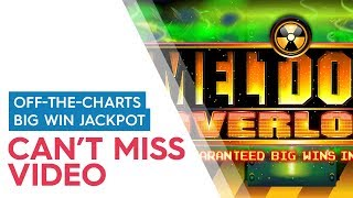 JACKPOT HANDPAY! Meltdown Overload Slot 500x - $10 Max Bet Bonus!