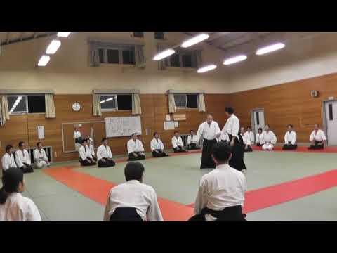 IWAMA STYLE AIKIDO  Okayama Aiki Shuren Dojo H29.10.7