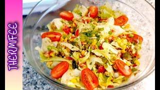 EISBERGSALAT FÜR EILIGE - frischer gemischter Salat   Thermomix® TM6   Thermifee®