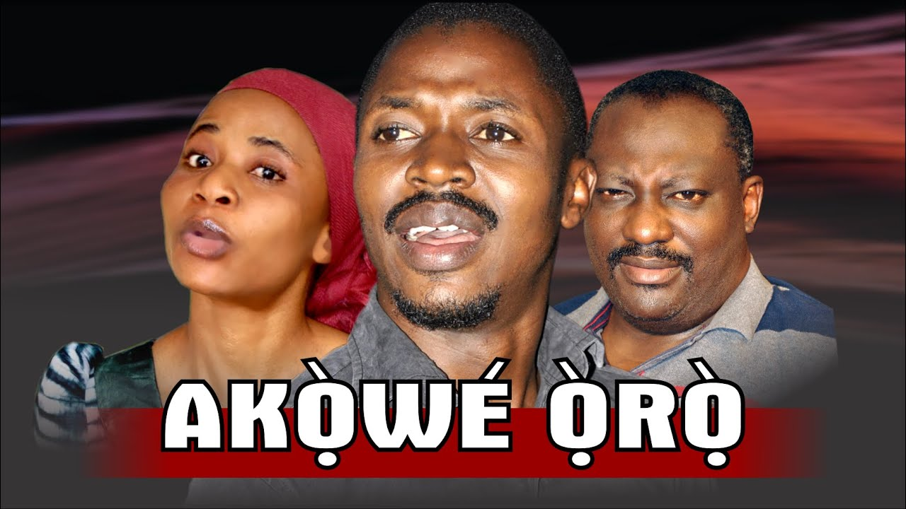 Download AKOWE ORO - Subtitled: Word Recorder By EVOM Films Inc. || Movie Directed by 'Shola Mike Agboola