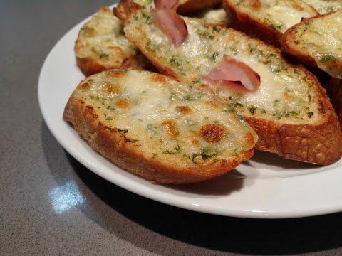 Pan de ajo con queso (estilo domino's pizza / pizza hut)