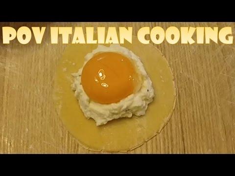 Ricotta e Uova (Ricotta & Egg) Ravioli with Sage Butter: POV Italian Cooking Episode 30