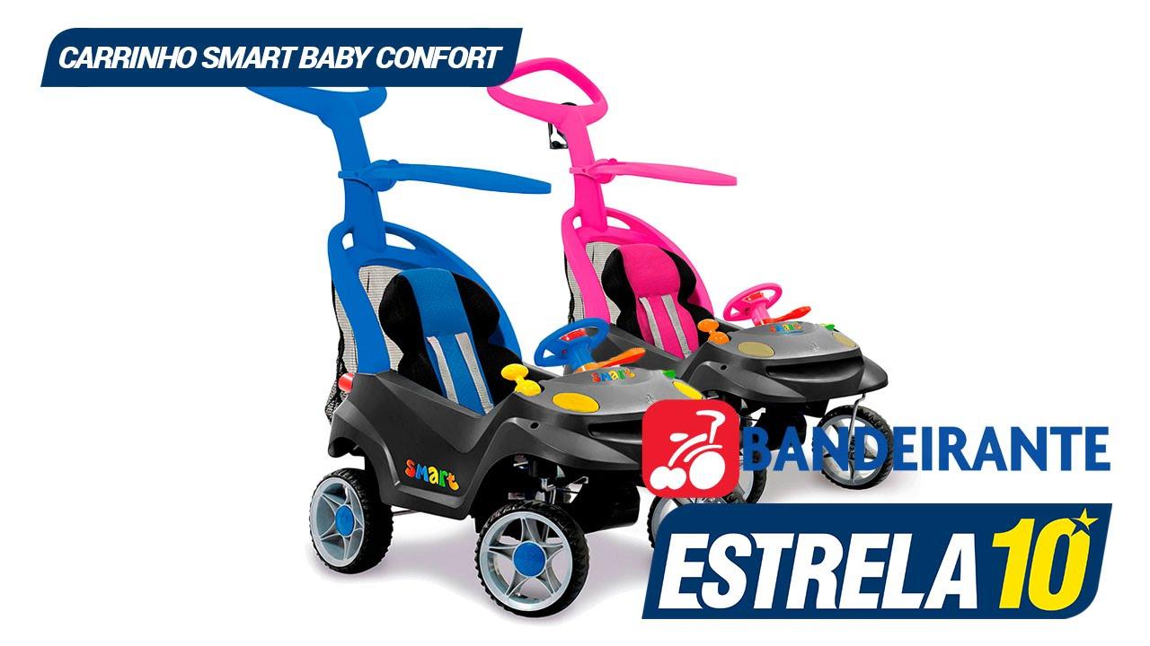 263f597785df3 Carrinho Infantil Smart Baby Confort - Brinquedos Bandeirante - YouTube