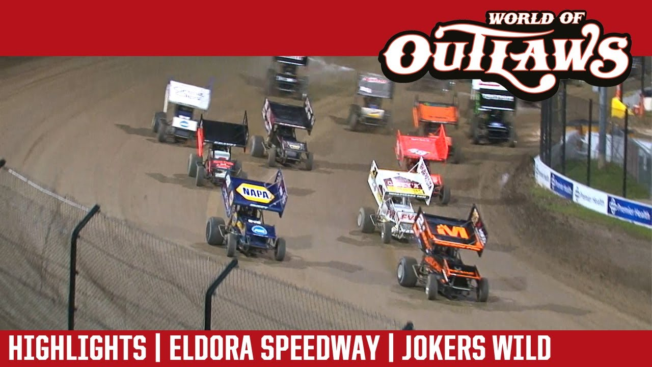 world of outlaws craftsman sprint cars eldora speedway july 13