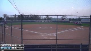 Blue Dragon Softball vs. Barton (Game 2)