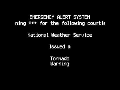 Tornado Warning  Menomonie WI  July 18th 2015
