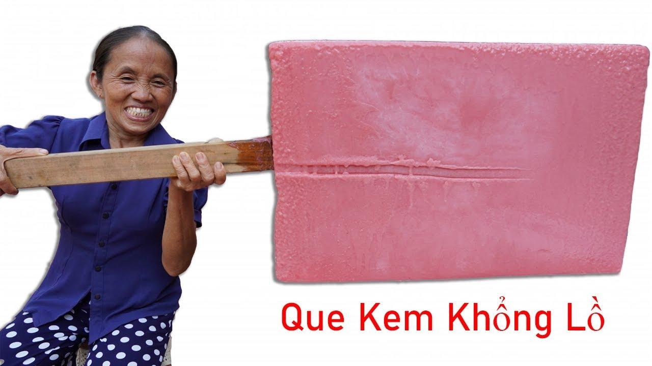 Bà Tân Vlog – Làm Que Kem Dưa Hấu Siêu To Khổng Lồ | Giant watermelon ice cream sticks