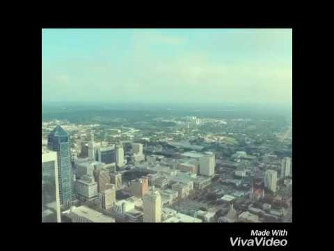 Dji inspire 1 flying over Jacksonville Florida July 4th day time