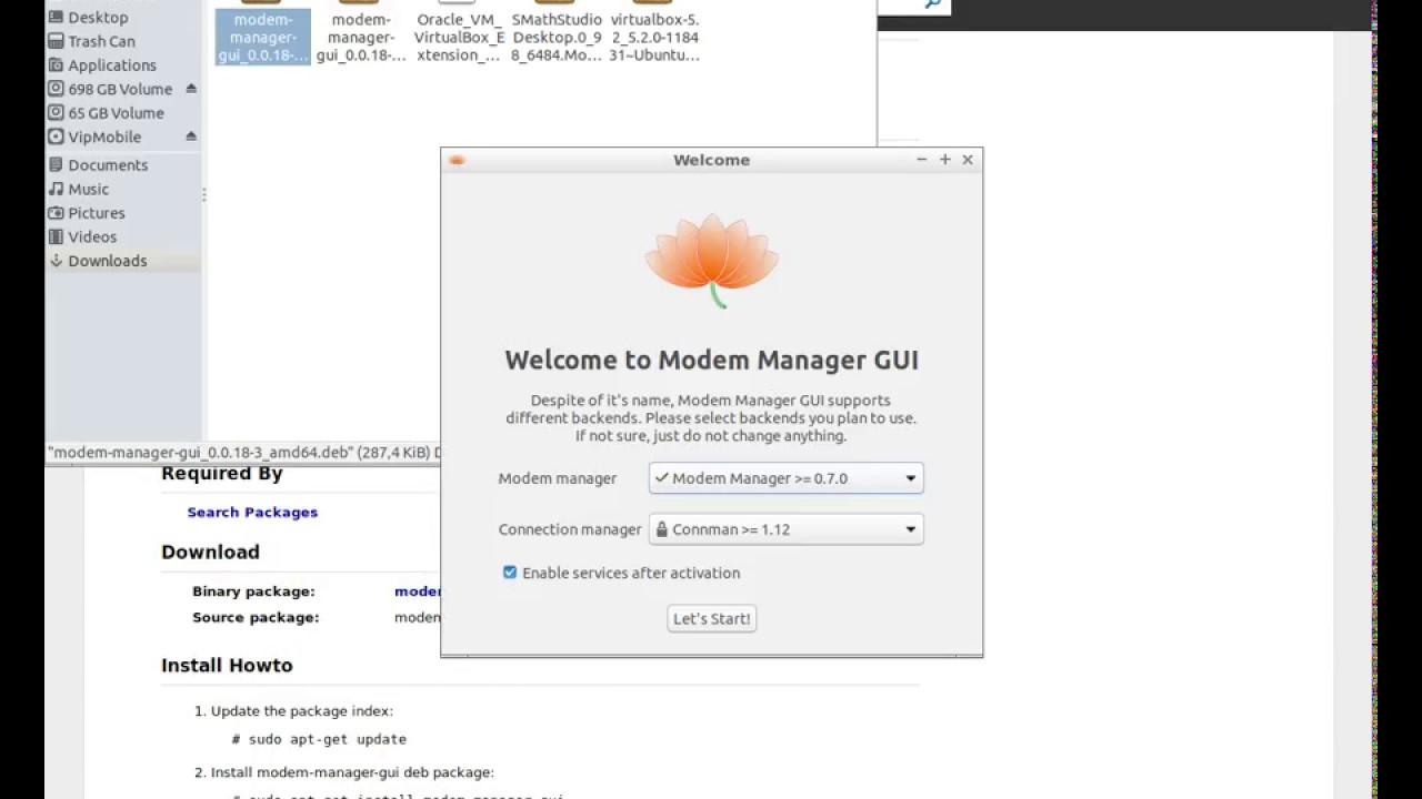 How to install huawei e3131 mobile modem Ubuntu 17 10 Lubuntu