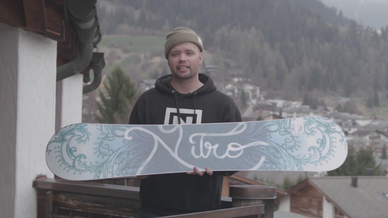 Nitro Snowboards Damen Mystique18 Snowboard