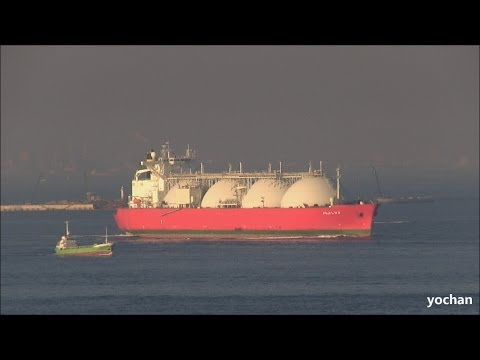 LNG Tanker: FUJI LNG (Former name: MUSCAT LNG, Flag: Malta, IMO: 9275359) Underway