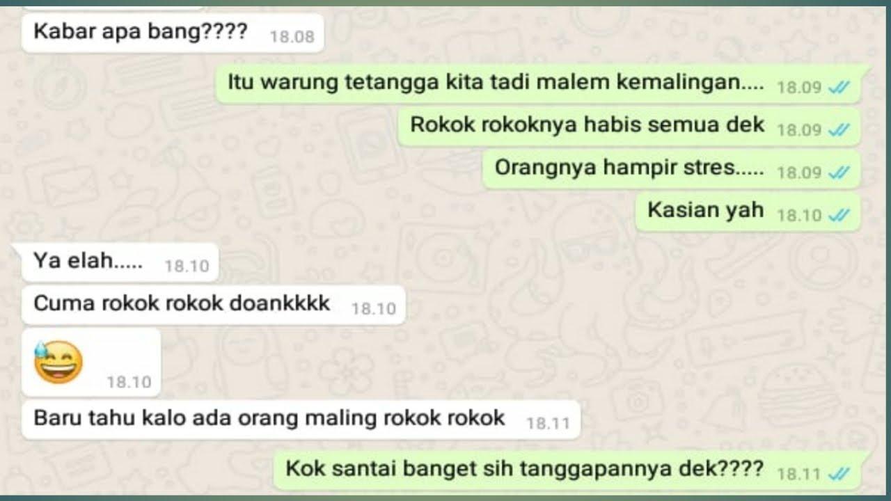 Chat WhatsApp Lucu Dan Nggak Nyambung😜