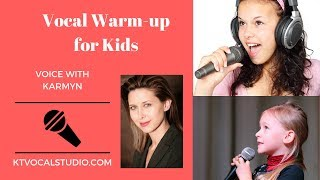 Warm-ups for Kids and Pre-Teens (and prepubescent boys)