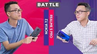 BATTLE   So sánh Nokia 7.2 và Realme 5 Pro