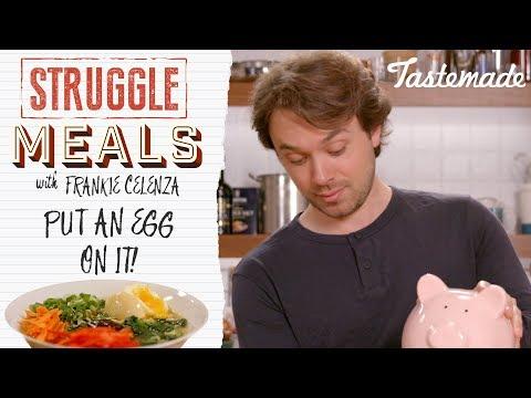 How to Make Ramen Using Leftover Food | Struggle Meals