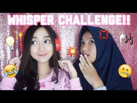 WHISPER CHALLENGE!! [BAHASA]