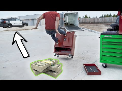 Heres my new $10,000 toolbox!