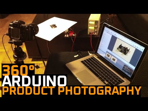 360 image capture with Arduino