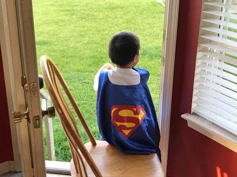Born with Arthrogryposis, Living like Superman