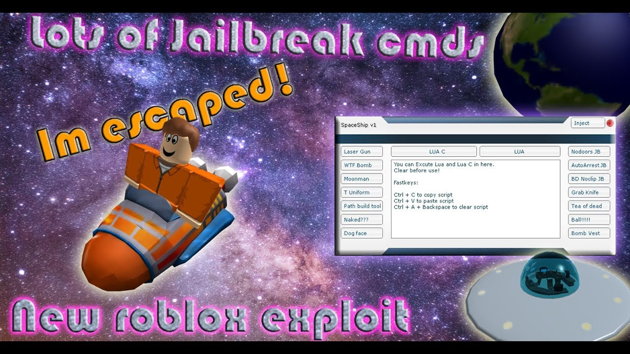 New Roblox mod menu / exploit (Spaceship) + Download