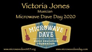 Victoria Jones from Microwave Dave Day 2020