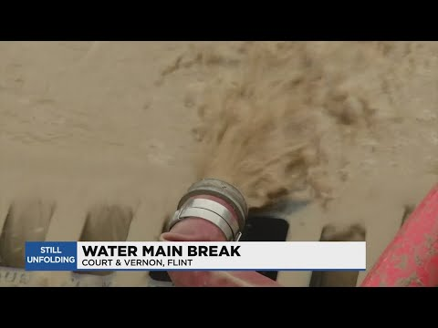 Flint community frustrated as water main break issues continue