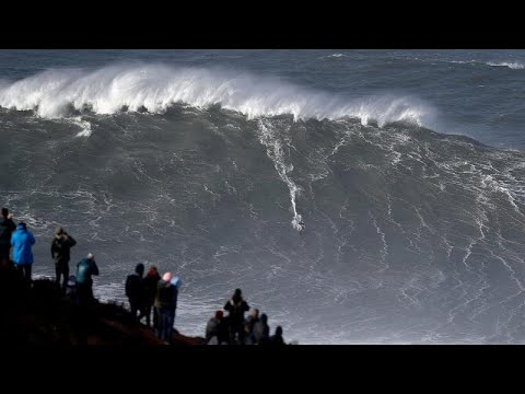 Monsterwellen Portugal