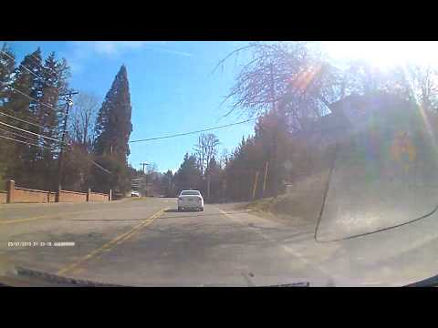 Sharon Green - Close Call!  Dash cam Catches Near Head On Collision