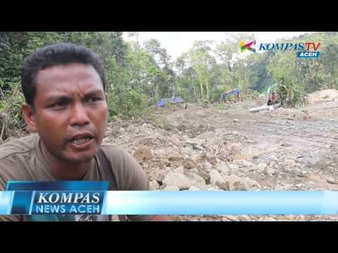 TAMBANG EMAS ILEGAL   KOMPAS NEWS ACEH 02/04/2016