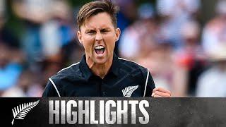 Boult 7/34, Career Best Figures!   HIGHLIGHTS   2nd ODI - BLACKCAPS v Windies, 2017