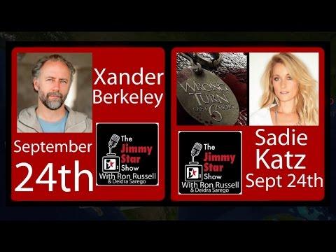 """Wrong Turn 6"" Sadie Katz | ""Walking Dead"" Xander Berkeley |Interviews on #jimmystarshow #ROKU"