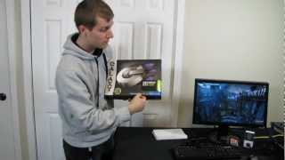 galaxy nvidia geforce gtx 680 2gb video card unboxing first look linus tech tips