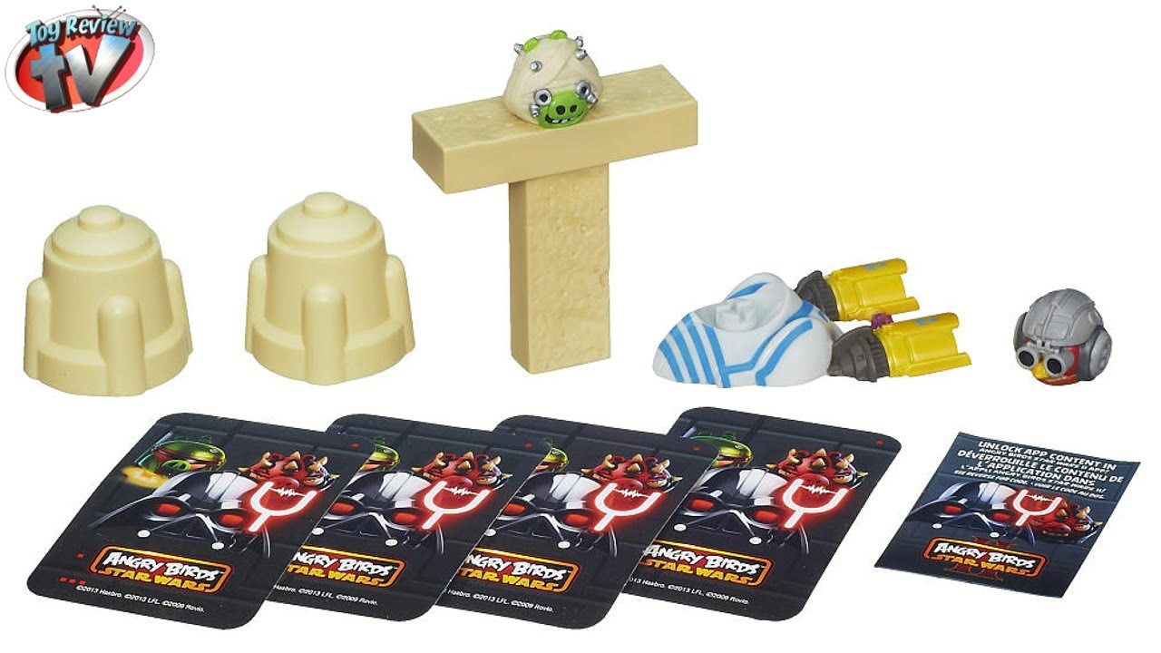 Angry Birds Star Wars Toys : Angry birds star wars jenga anakin podracer game toy