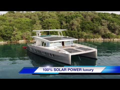 SOLAR YACHTS enjoy autumn in Greece, enough sun for solar cruising, household and full batteries