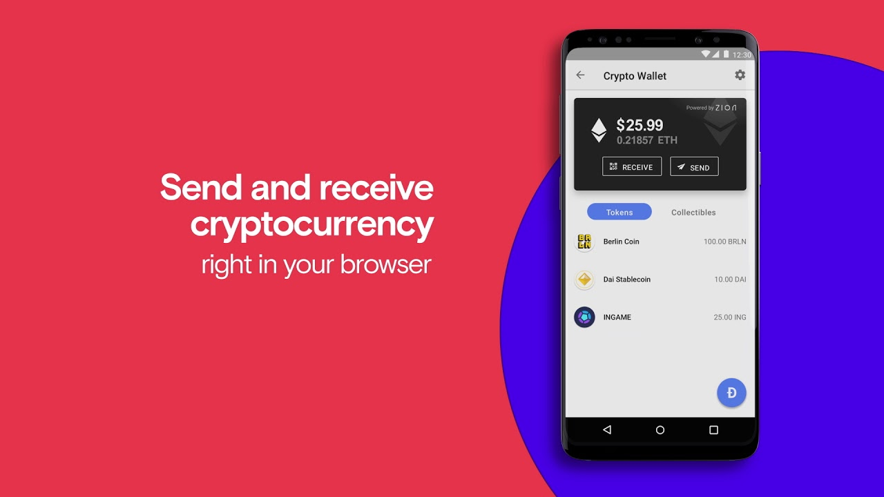 Opera Browser for Android - Fast and secure browser with built-in Crypto  Wallet | Opera | Browser