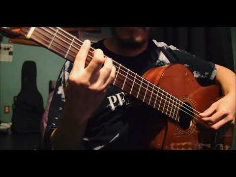 Hace Tiempo Javier Reyes Classical Guitar Cover Youtube