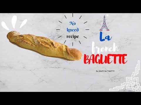 😋recette-de-la-baguette🍞-/-baguette-recipe-/-how-to-make-homemade-french-bread-baguette-🍞